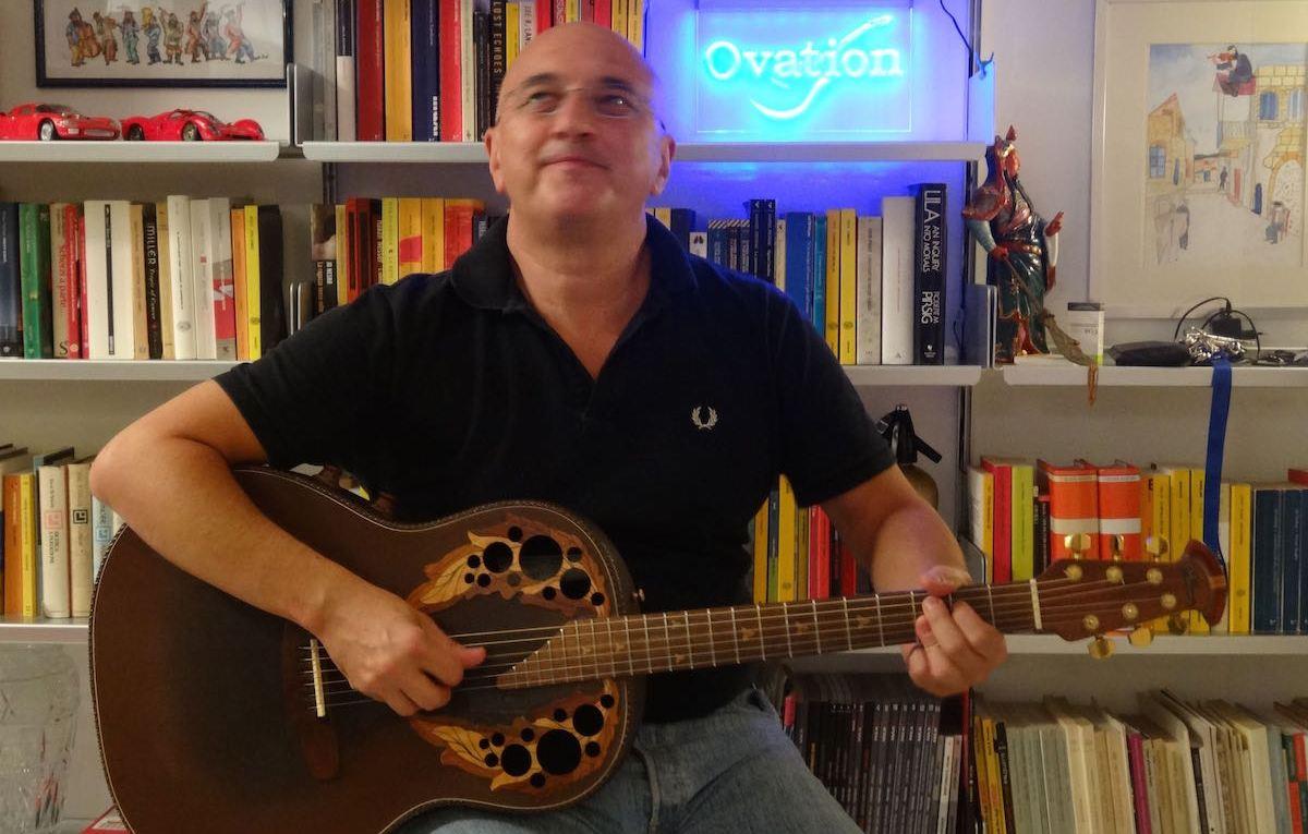 Alberto Biraghi with his Adamas 2