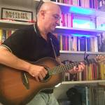 Alberto Biraghi with his Ovation parlor