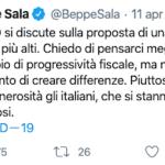 Criticare Beppe Sala e il dito che indica la fogna