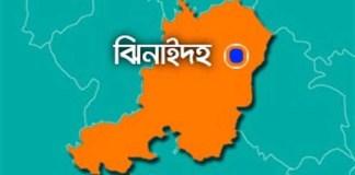 Jhenaidah map