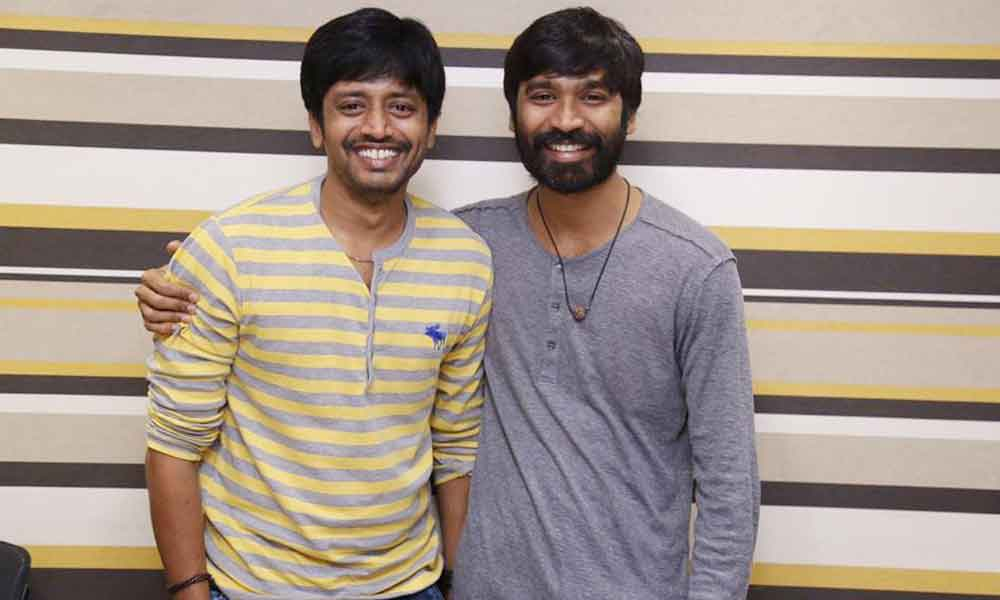 Mirchi Shah with Actor Dhanush