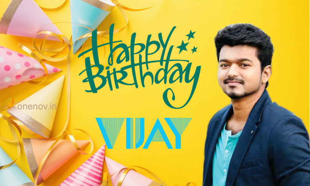 Vijay Happy Birthday Greetings Photo