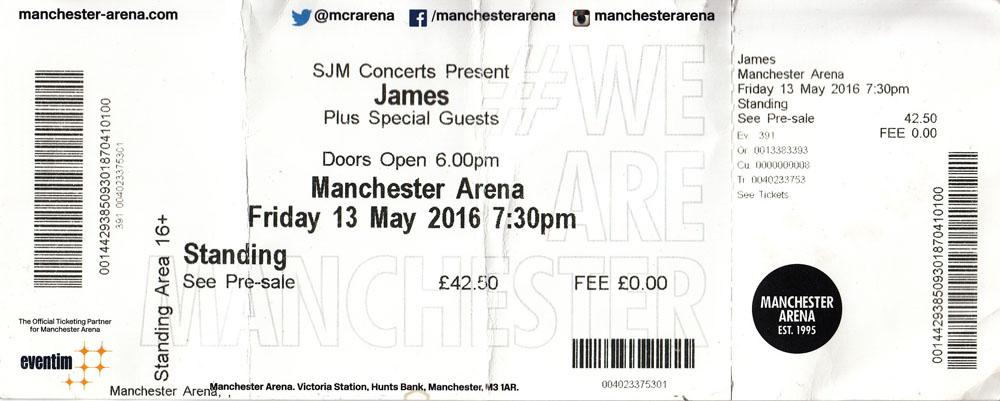 Arena-Ticket