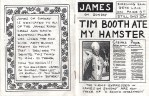Fanzine: James on Sunday - Issue 1