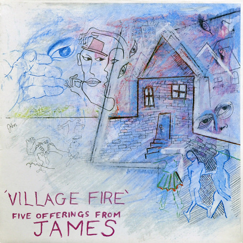 Village Fire Front Cover