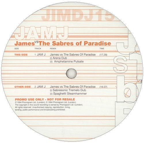 "Jam J Sabres 12"" Promo"
