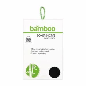 2 stuks Apollo Bamboe Boxershorts - Zwart webshop - ONE AND ONE MAKES TWO