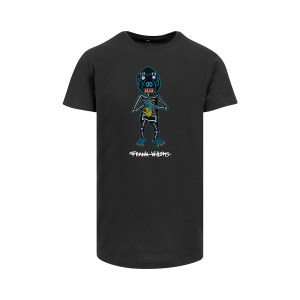 ONE AND ONE MAKES TWO - Longfit T-shirt - Saxophone Monkey - BLK