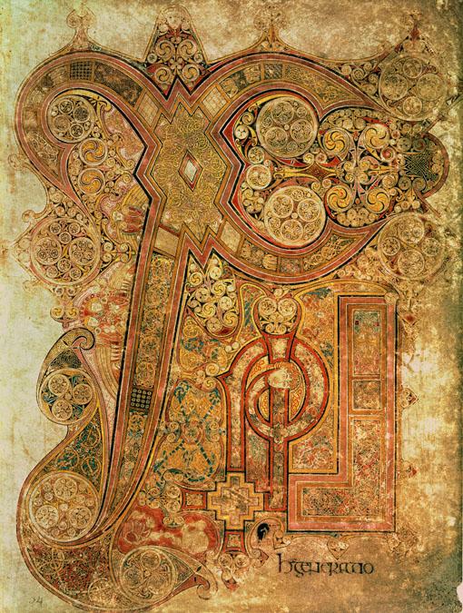 Insular Hiberno Saxon Art