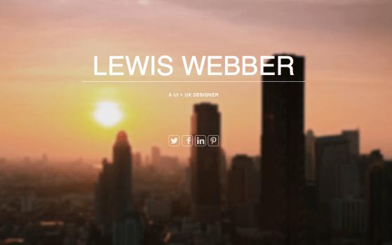 lewis webber