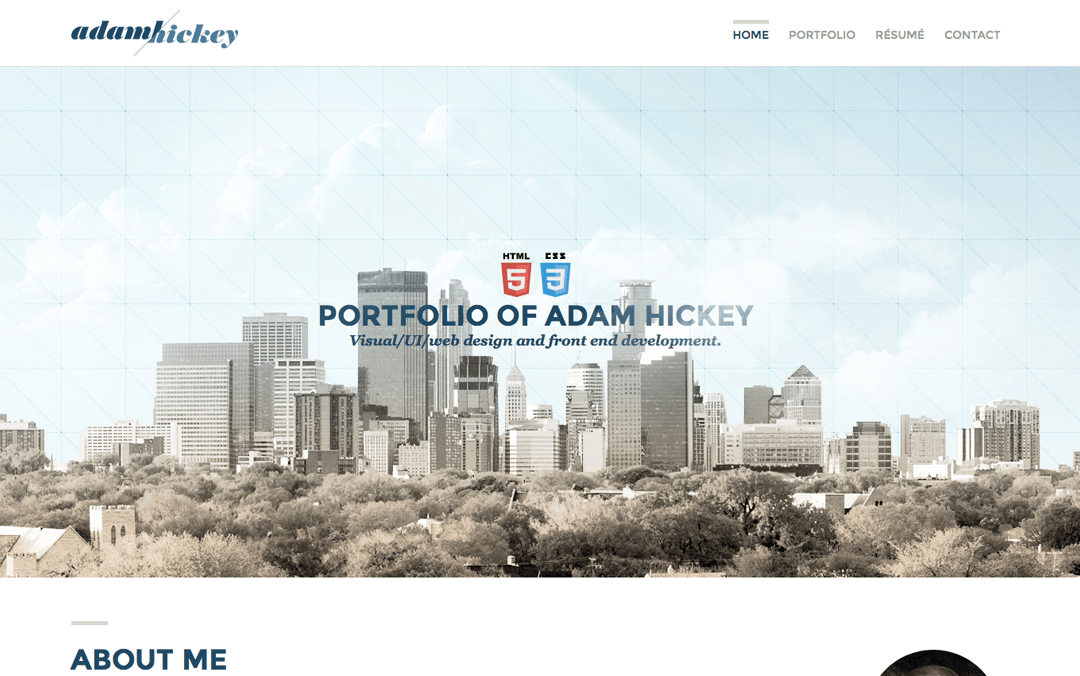 adam hickey one page websites