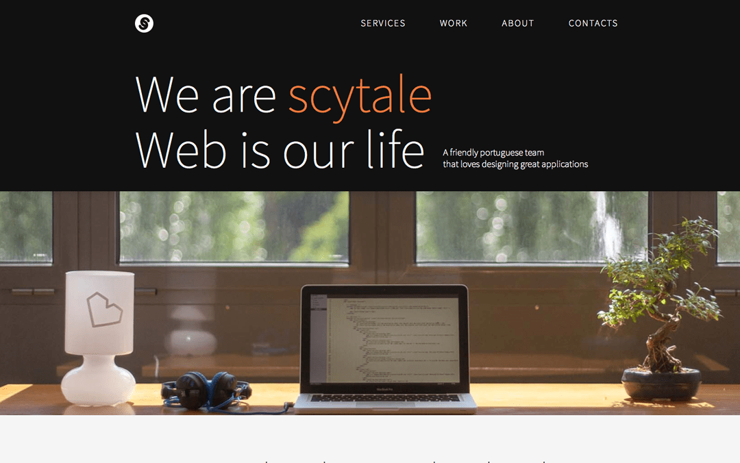 scytale one page websites