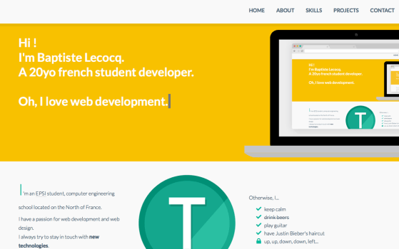 tiste featured on one page mania