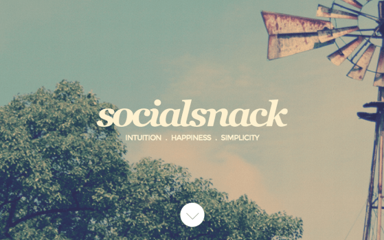 Social Snack Buenos Aires one page