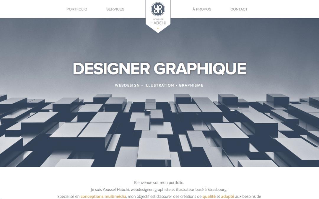 Youssef Habchi one page web designer