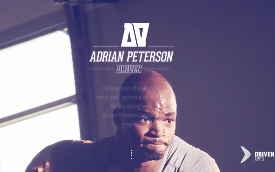 Adrian App One Page Website Love