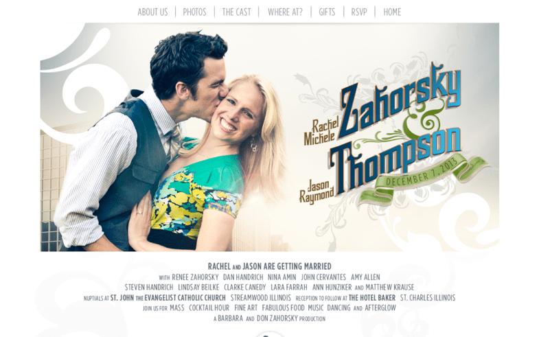 Rachel and Jason Wedding Site