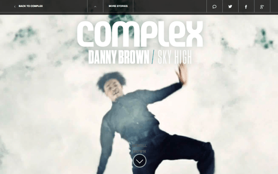 Danny Brown // Sky High about page