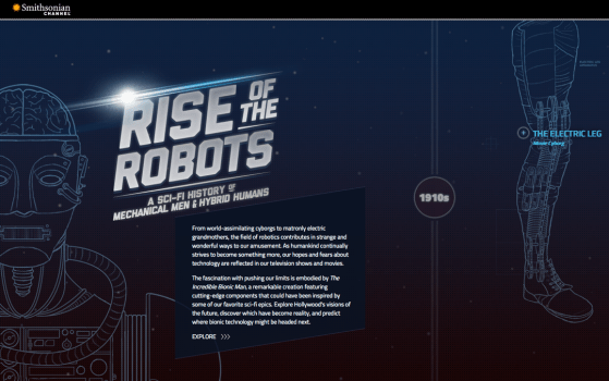 Rise of the Robots byt the smithsonian