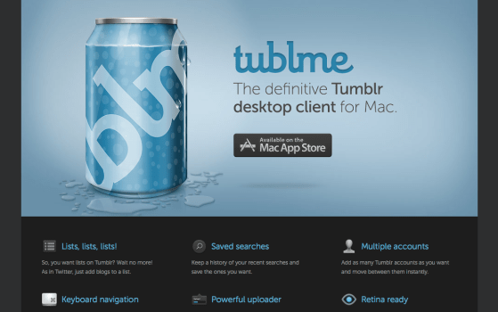 umblr, tubl, tublme, mac, apple, desktop, client, app store, imac, macbook, software