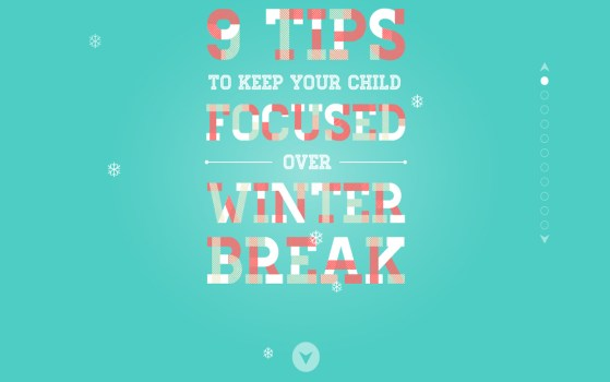 How to keep your kids busy over winter break