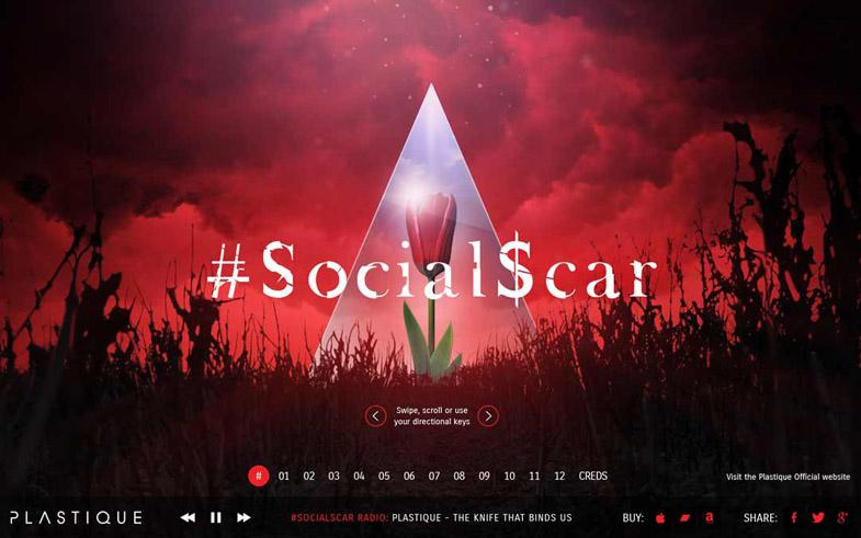 Plastique's #SocialScar