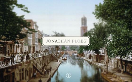 jonathan ploeg one page