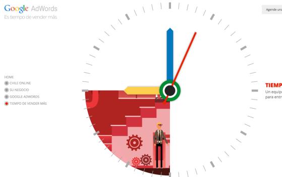 Una pagina - Tiempo de Vender Más