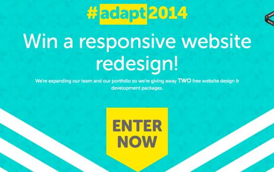 I want a responsive website