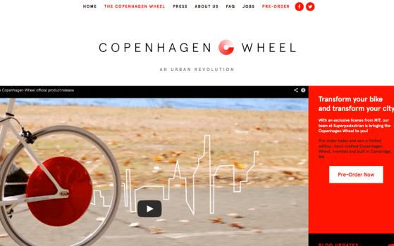 superpedestrian bike wheel