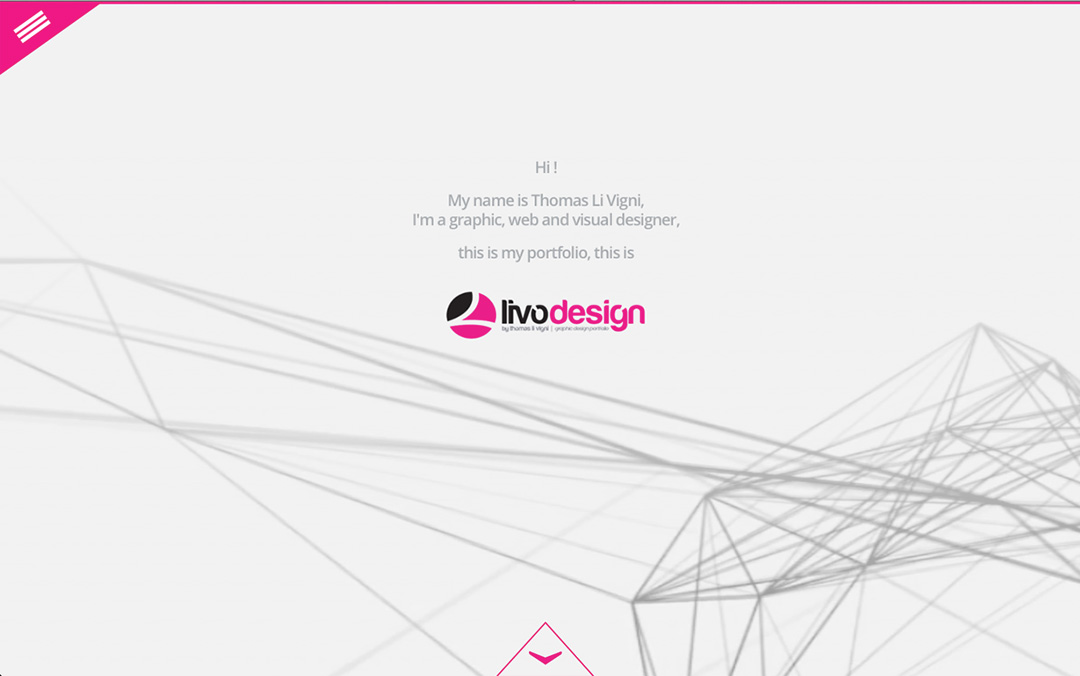 one page website designer
