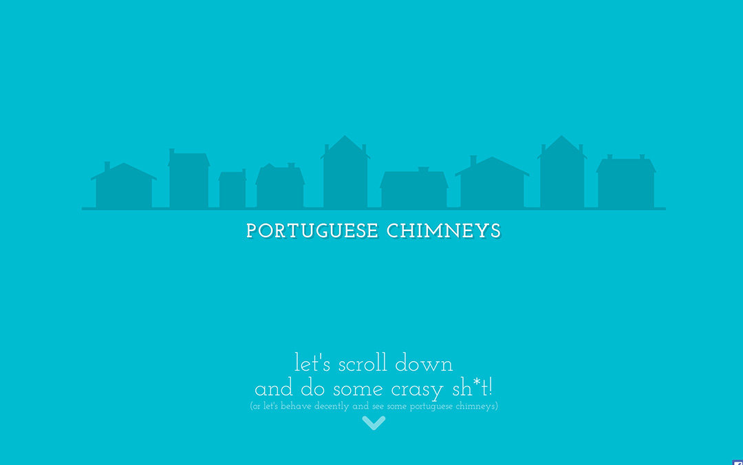 single page chimney website