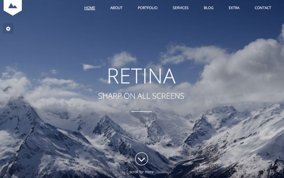 horizon one page template themeforest