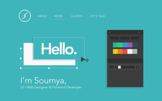 Soumya Ranjan Bishi portfolio website