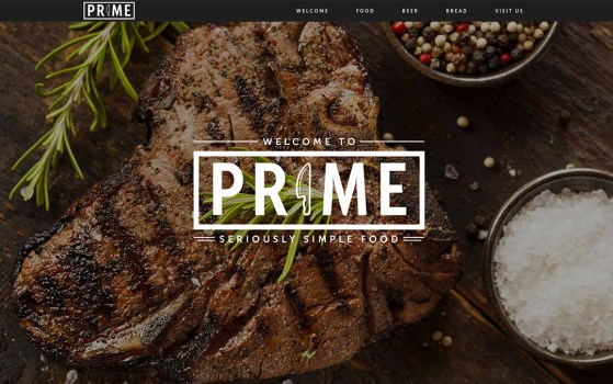 restaurant website inspiration