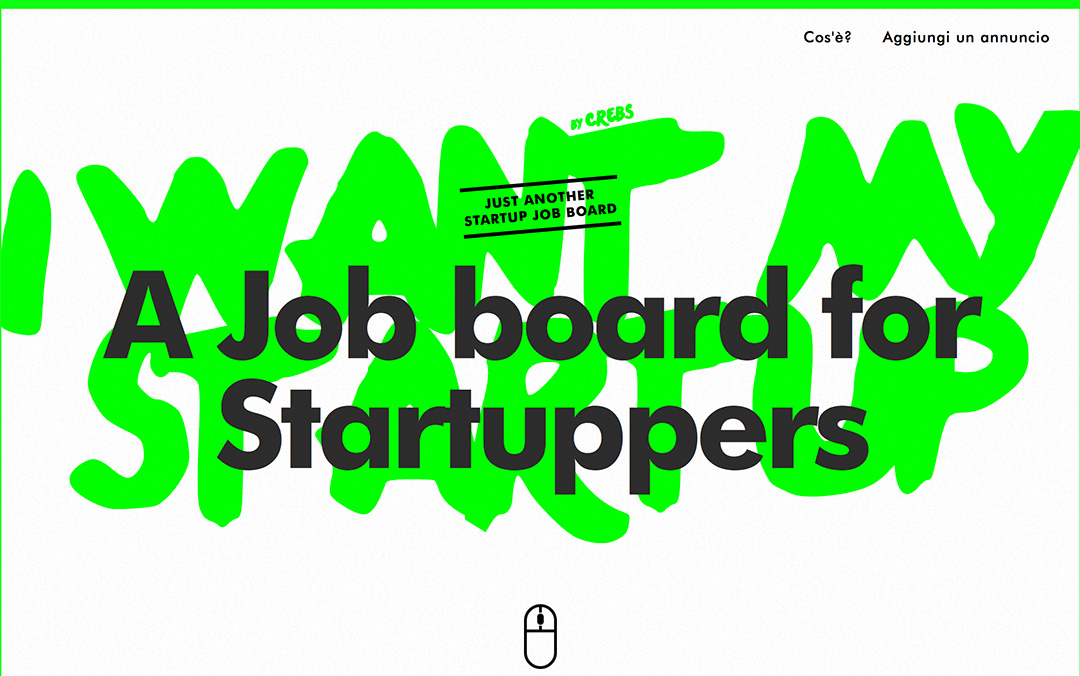 one page startup website