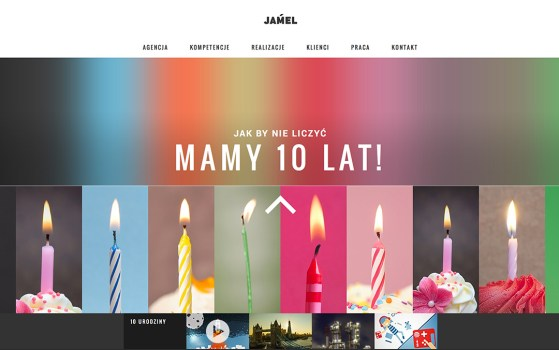jamel agency onepage websites