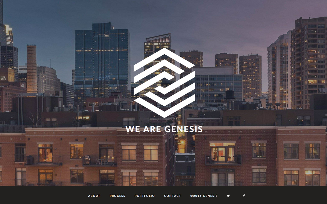 one page template websites