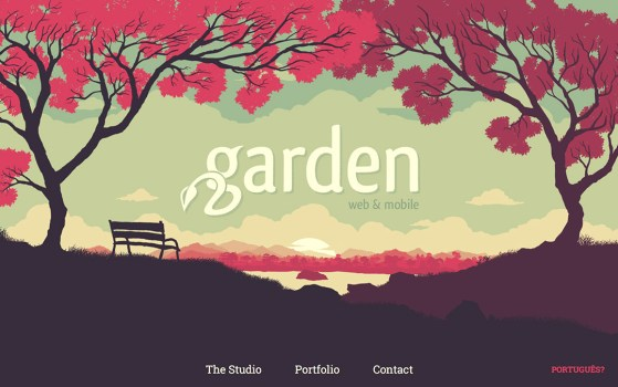 one page portfolio website