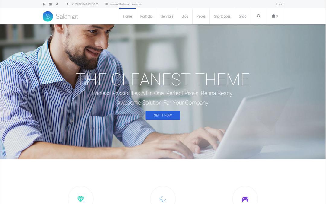 Salamat - Multipurpose WordPress Theme