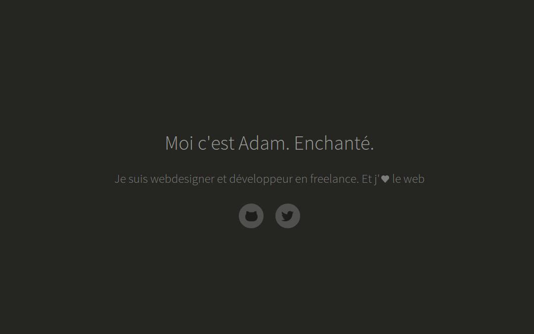 one page website designer and developer