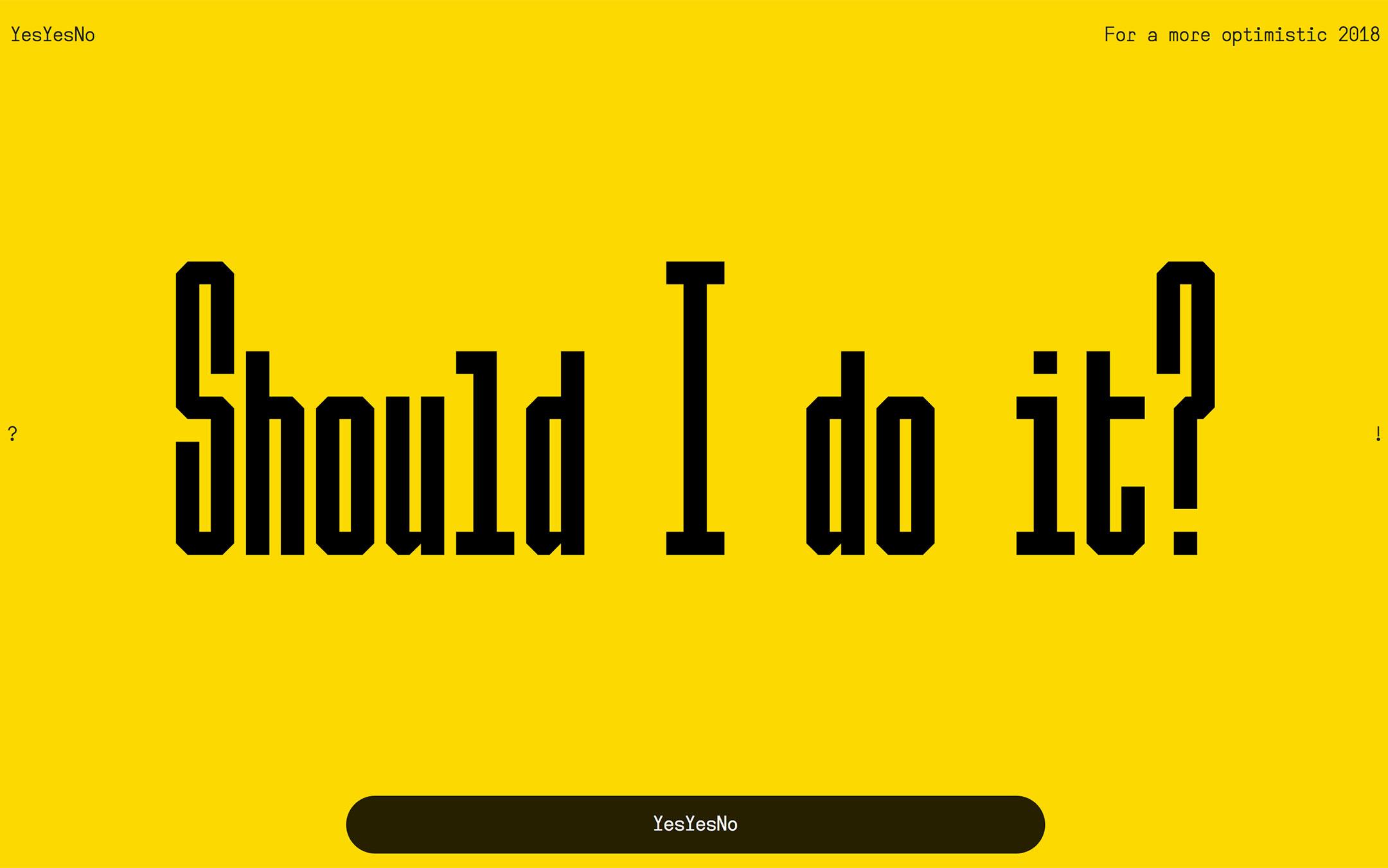 should i do it?