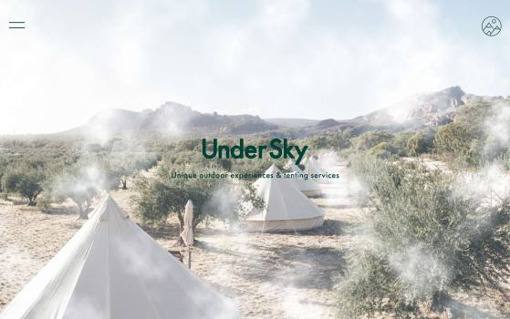 undersky glamping site