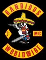 Shedden Massacre Bandidos MC Logo