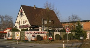 How to join Hells Angels - Hells Angels Clubhouse Karlsruhe Germany