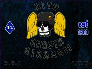 Blue Angels MC Patch Logo
