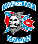 Chosen Few MC Sweden Patch Logo