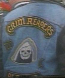 Grim Reapers MC Patch Logo Alberta Canada