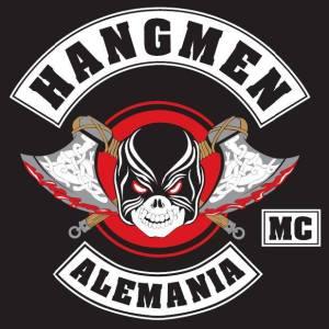 Hangmen MC Germany patch logo black white