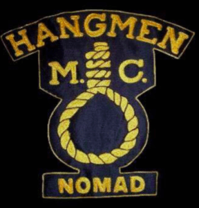 Hangmen MC Nomad patch logo